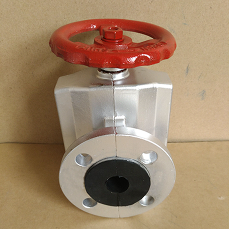Wear-resistant flange pneumatic clamping valve cheap quality quality