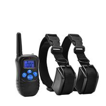 2018 Amazon New High Quality Rechargeable Electric Vibrating Dog Training Collar Electric Shock Vib Beep Dog E Collar