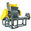 cheap plastic crusher with blower and silo