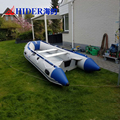 Hider 0.9mm/1.2mm PVC fold inflatable fishing boat molds for sale