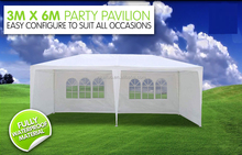 White color size 10'x20' wedding used PE waterproof material party tent