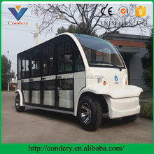 New Model Electric Sightseeing Car or Shuttle Bus