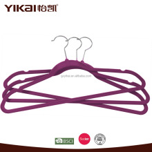 Factory supply velvet hanger thick for promotion