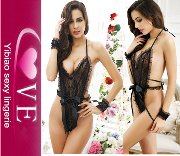 Sex Shop Hot Cheap Sexy Latex Lingerie Fashionable Hot Sexy Transparent Nighties Hot Sexy teddy Doll Lingerie