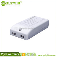 Hot sale 12w waterproof electronic led driver 300ma 600ma