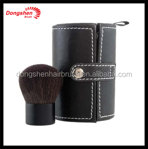 Natural hair Makeup kabuki brush with kabuki brush bag