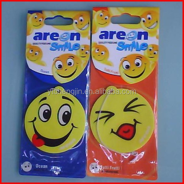 different shapes funny flavour & fragrance air fresheners car freshener incense