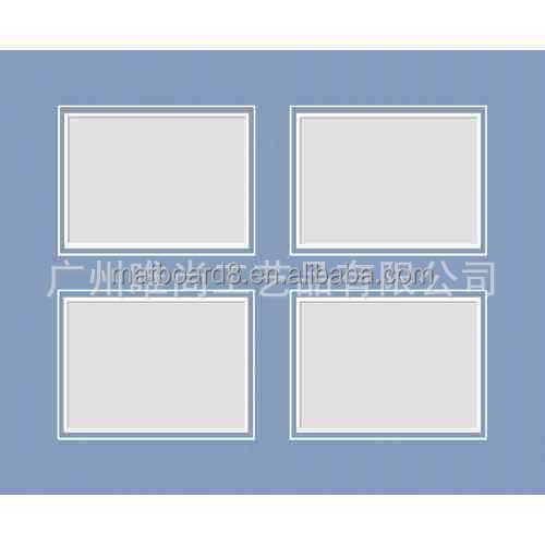 uncut whole sheet photo mat board and precut mat board