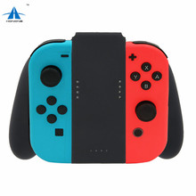 Game Controller Charging Hand Grip Handle Grip Charger Gamepad Power Supply Holder for Nintendo Switch JoyCon Charging Grip Dock