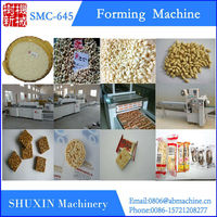 Puffed wheat bar machine,forming machine,cutting machine