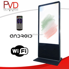 55 Inch Floor Standing Android TFT led commercial advertising display screen