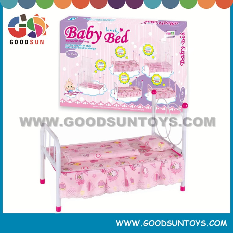 "17"" cheap folding iron beds baby doll cribs and beds"