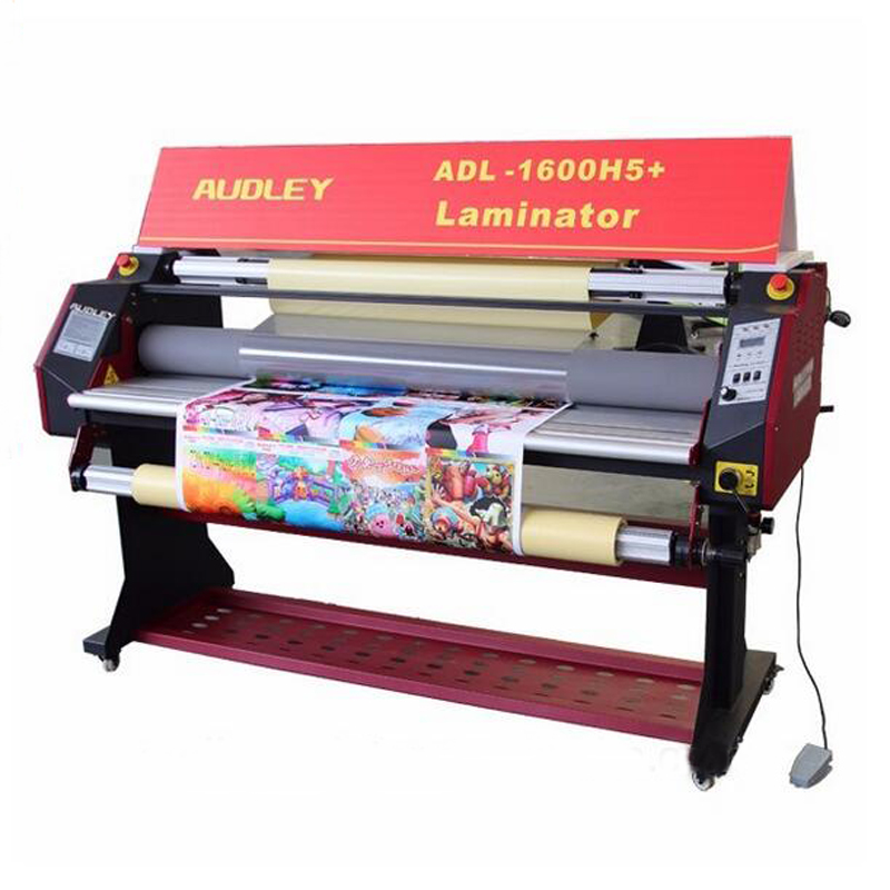 2017 popular hot press laminator machine