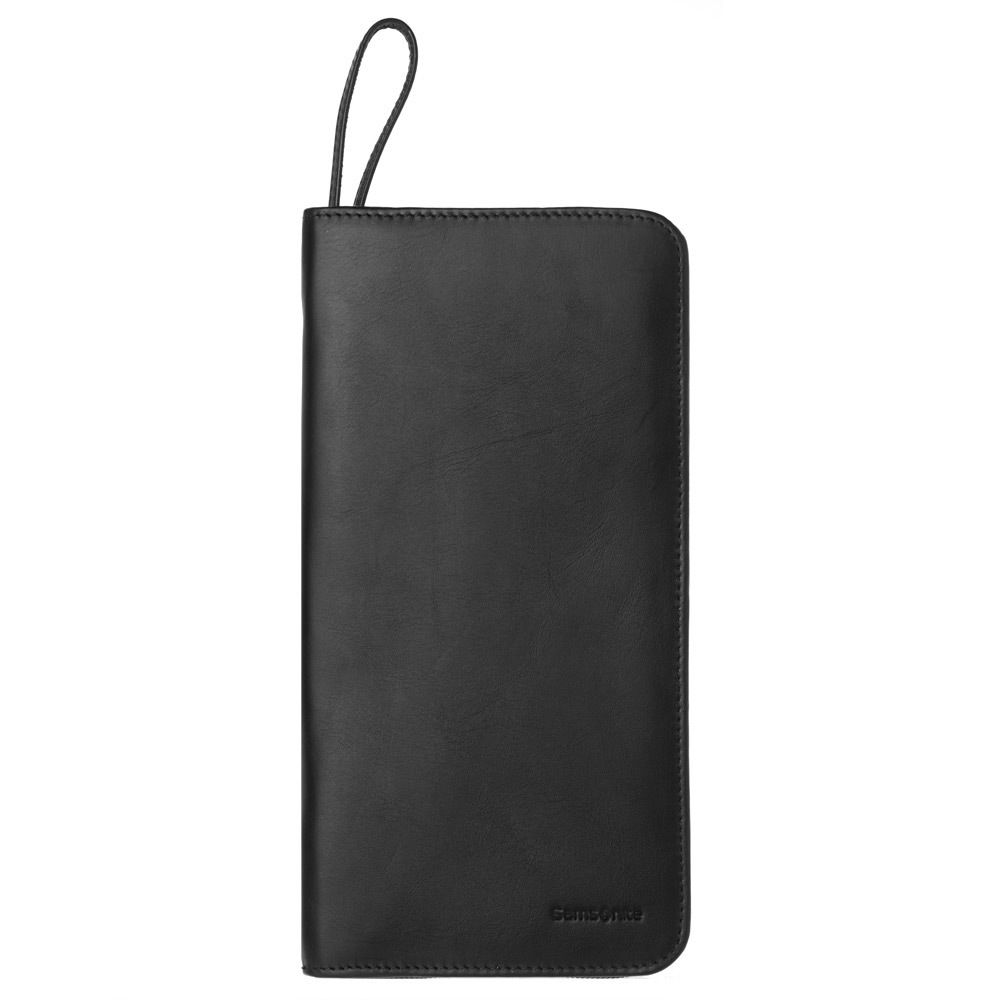wholesale customized leather travel document holder organizer wallet