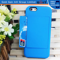 [GGIT] For iPhone 5s Credit ID Card Flip Holder Case Cover