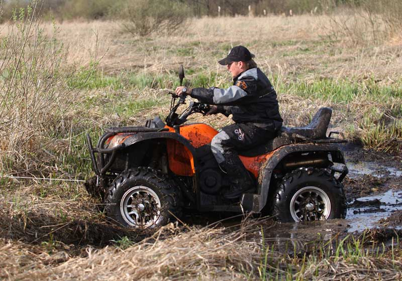 EEC double seat atv 500cc 4x4