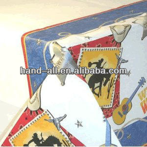 One-off party use rectangular non-woven table cloth