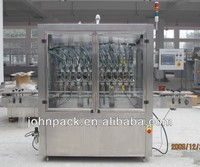 sticky liquid filling machine,bleach filling machine