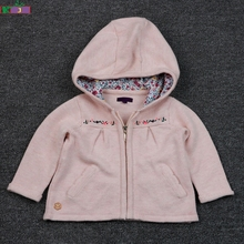 New Style Baby Winter Outwear Knitted Sweater Hoodies Jacket Cute Baby Girl Winter Coat