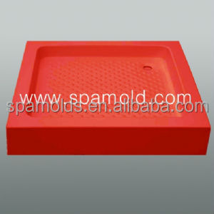 Fiberglass injection plastic shower tray mold for acrylic