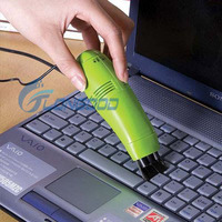 Mini USB Vacuum Keyboard Cleaner for PC Laptop Computer With 3 Colors