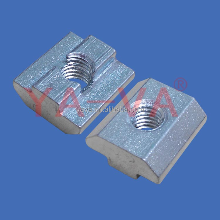 Stainless Steel M8 Spring Nuts / Sliding Nuts / T-Slot Nuts