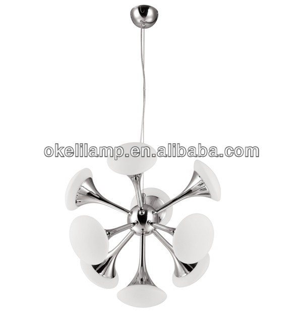 special iron white splendish chandelier, perfect chandelier, lonely planet chandelier made of iron