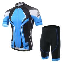 2017 new star riding short summer breathable bicycle suit sleeved suit Cycling Wear