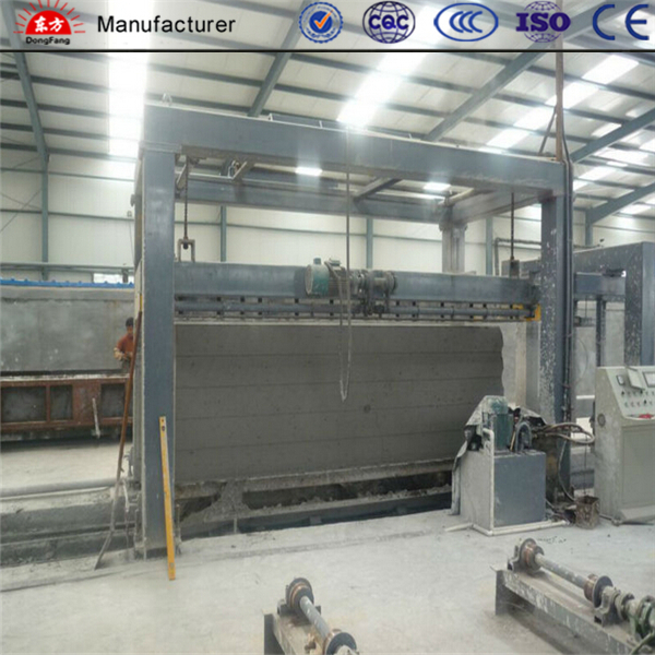 Autoclaved aerated brick production equipment--turnkey project