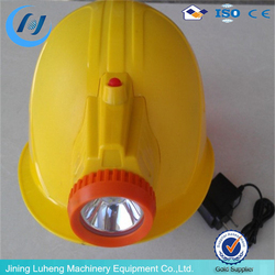 Most popular Industrial Safety Helmet with Head Lamp