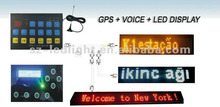 GPS tracking Bus station voice announcer for bus stop system