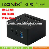2013 Newest SD/TF/M2/MS/XD Flash Memory Card 3.0 usb hub