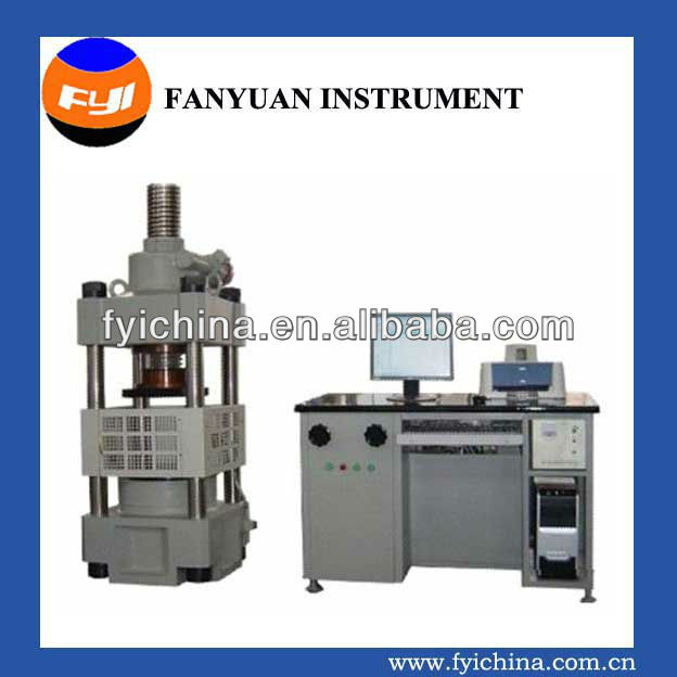 ELECTRO-HYDRAULIC SERVO COMPRESSION TESTING MACHINE