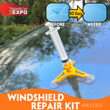 Windscreen Repair Kit WINDSHIELD REPAIR KIT TV Shopping Auto Accessories Windshield Repair DIY Product MOQ Only 48pcs