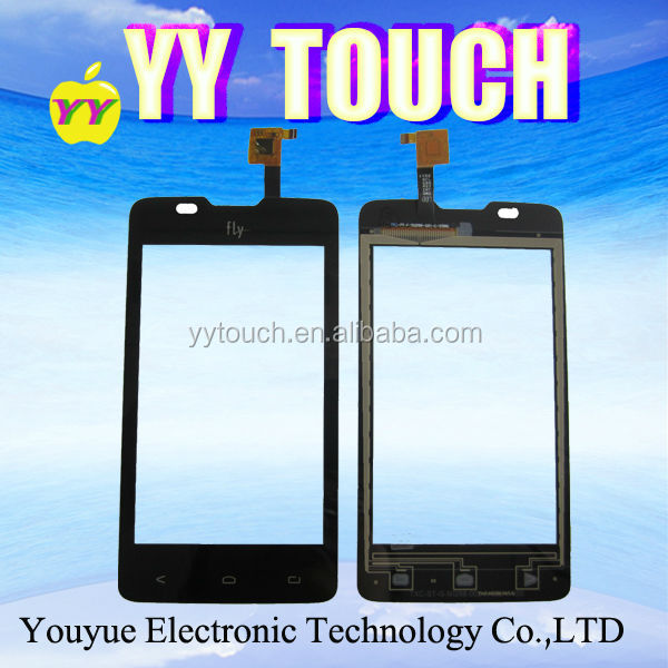 Original New Touch Digitizer Replacement For Fly IQ449 Pronto LCD Touch Panel Screen Front Lens Glass Black White Color
