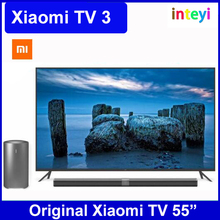 100% Original New Xiaomi TV3 55 Inches English Interface HD Screen Real 3840*2160 Ultra HD Quad Core Household TV