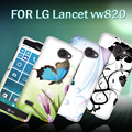 for LG Optimus Lancet VW820, PC rubber cell phone case