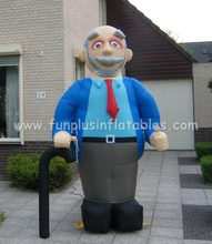 lifelike and durable Abraham and Sarah,giant inflatable old man P5015(1)