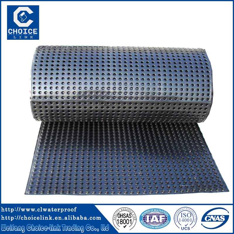Cheap Plastic Material Dimple Drainage Board For Roof