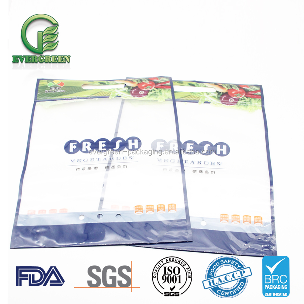 Anti-fogging and reliable Modified Atmospheric Vegetable Fruit Packaging Bags