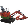 Mini Towable Backhoe with engine (manufacturer)