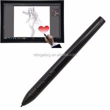 New product Wireless USB Digital Pen Rechargeable Mouse Digitizer Pen for Graphics Tablet(Black)