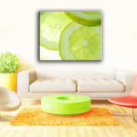 China best sale cyan fruit Rimless art wall fruits painting pictures