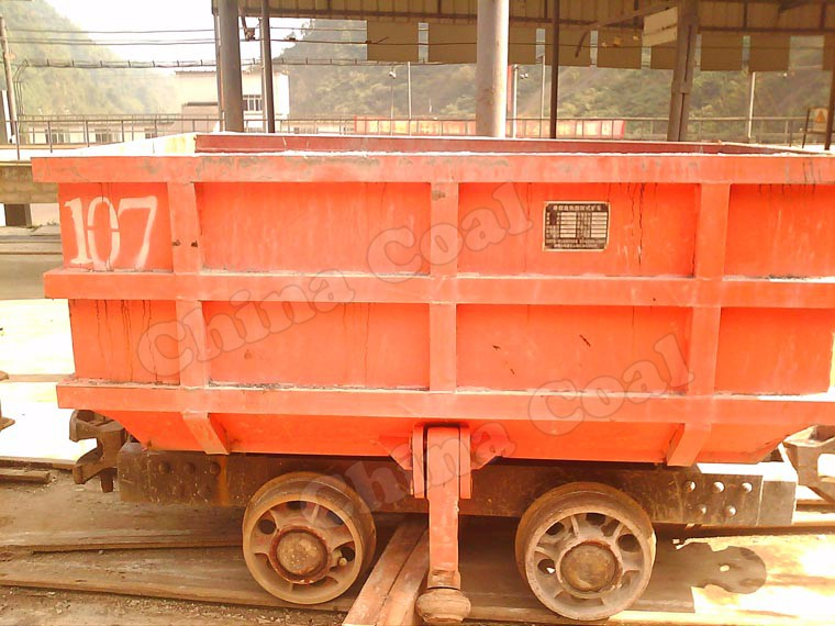MCC Side-discharging Mining Coal Cart with Hopper for Sale