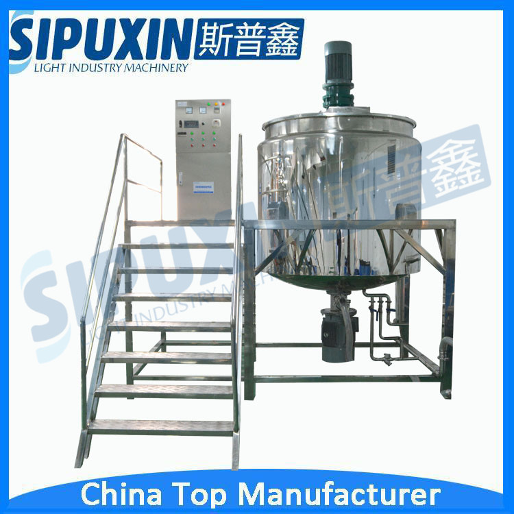 Sipuxin Stainless steel liquid detergent making machine