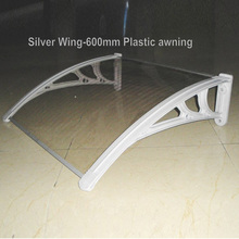 Economic and cheap Outdoor DIY polycarbonate door awning canopy shade solid balcony awnings