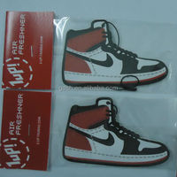 paper/cardboard hanging shoes car air freshener