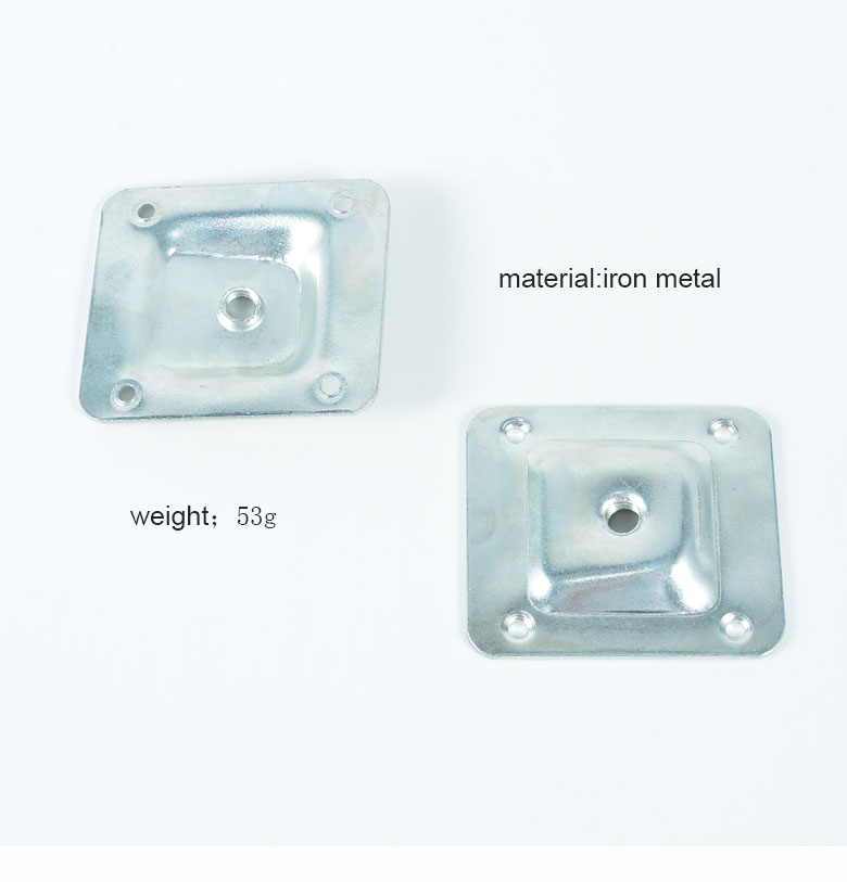 Amazon hot sale angled legs fixing plate at wholesale price VT-13.043