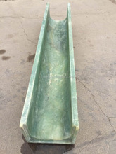 Resin concrete water drainage channel