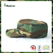 fashion army camo hats flat top military cap styles
